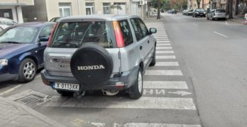 Забелязано в Свиленград: Паркиране по нашенски