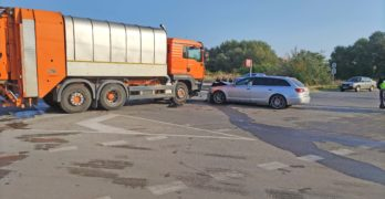 Внимание: Катастрофа на околовръстното в Свиленград