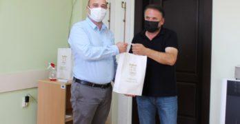 Кметът на община Свиленград арх. Анастас Карчев се срещна с представители на турската община Ениджия