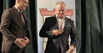 """Тържествена церемония за връчване на знака """"Почетен гражданин на Свиленград"""" на д-р Димитър Ермов /снимки, видео/"""
